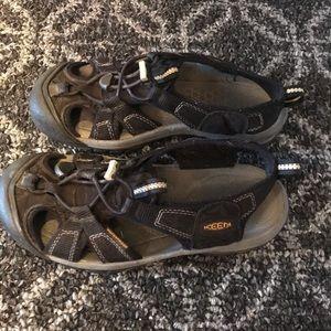 Keen Black Closed Toe Sandals